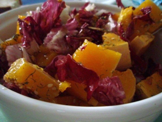 Insalata di zucca e radicchio – Ricette Vegan – Vegane – Cruelty Free