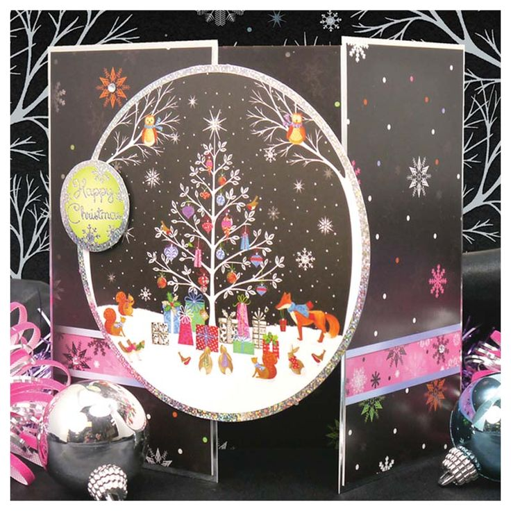 Woodland Christmas Individual Topper Set | Hunkydory Crafts