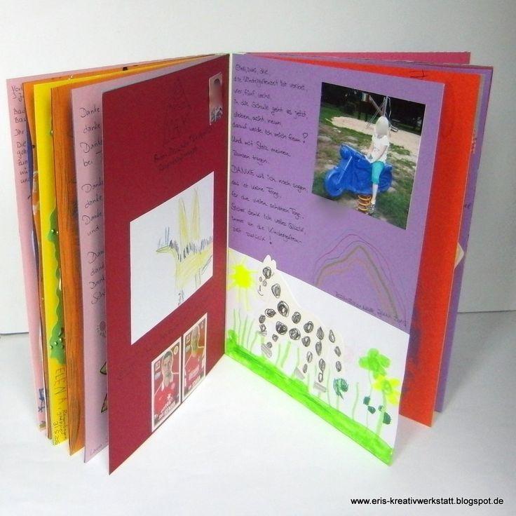 #Fotoalbum der Vorschulkinder als #Abschiedsgeschenk für den #Kindergarten http://eris-kreativwerkstatt.blogspot.de/2015/07/fotoalbum-der-vorschulkinder-als.html #stampinup #scrapbooking #album #fotos #teamstampingart #buchbinden