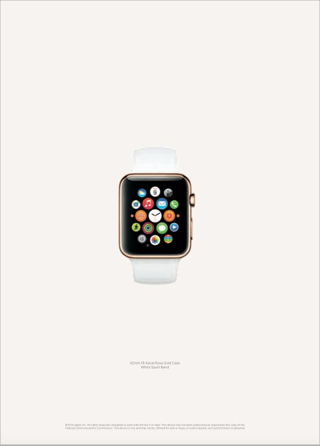 Apple Watch Gets Its First Advertising With a Stylish 12-Page Spread in Vogue | Adweek