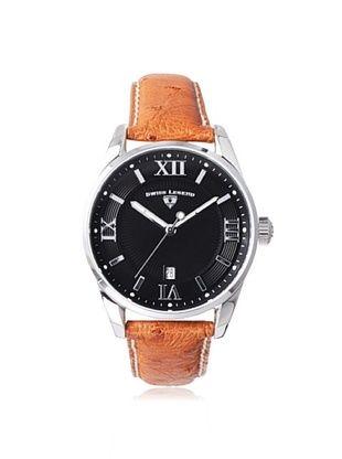 74% OFF Swiss Legend Men's 22012-01-DA03C Bellezza Dark Brown/Black Ostrich Watch