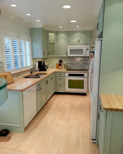 Green Kitchen Walls With Maple Cabinets: 51 Best Images About Transitional Kitchen Inspiration On Pinterest