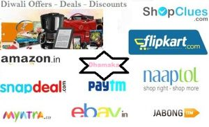 Buy products online at best deals of amazon diwali sale, snapdeal diwali sale and flipkart diwali sale 2015.
