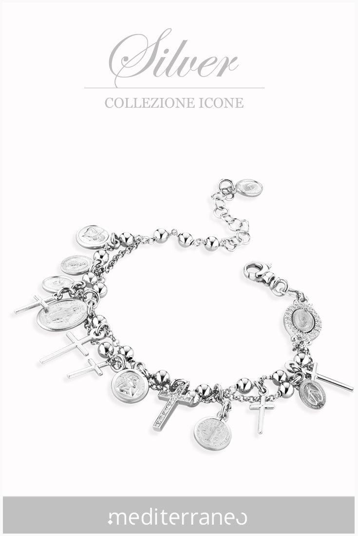 #bracciale rosario in argento 925.