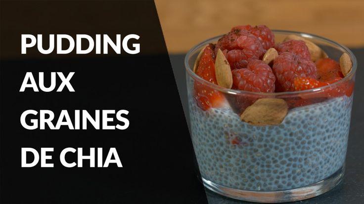 Les graines de Chia sont très intéressantes pour la santé, car très riches en Oméga 3 (des acides gras essentiels, que le corps ne sait pas fabriquer). Virginie Dubois, diététicienne nutritionniste, vous propose une recette de pudding aux graines de chia, idéale au petit déjeuner ou au goûter!