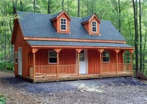 Amish Cabin And Small Cabins On Pinterest