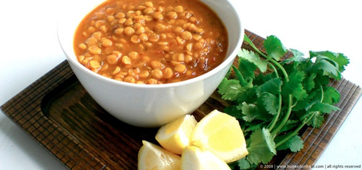Chana Dal Masala (Spiced Split Pea Lentils)