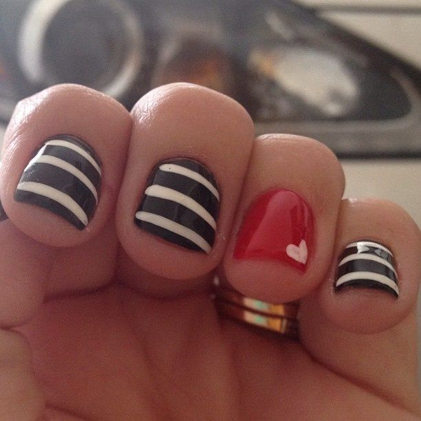 shelovesmakeup's nails! Show us your tips—tag your nail photos with  to be featured on our social sites!