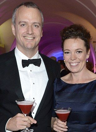 Olivia Colman with husband Ed (Sinclair).