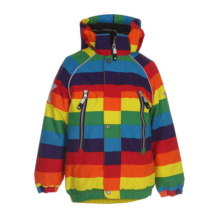 Molo Castor Rainbow Coat – Juicytots