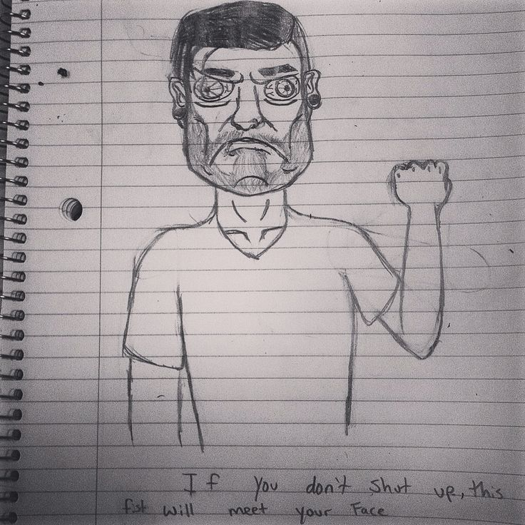 Another doodle, I get bored in class