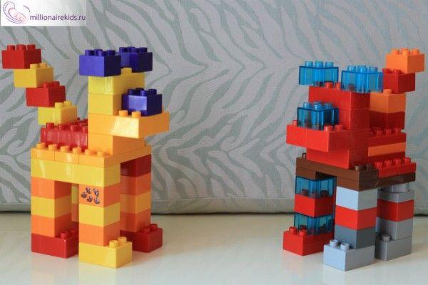 Лего Дупло собаки
