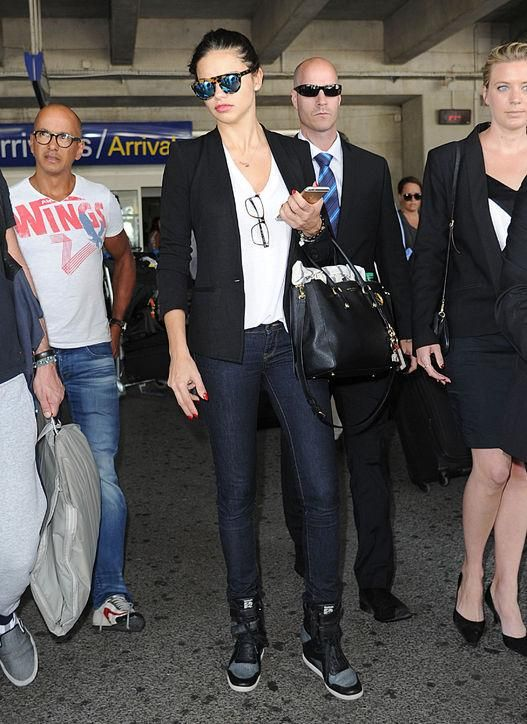 Model off-duty style: 9 airport outfit ideas to try from Adriana Lima and more