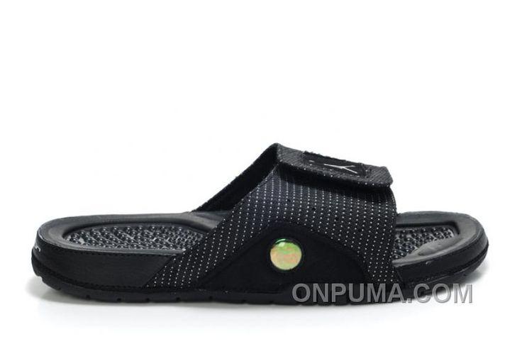 http://www.onpuma.com/air-jordan-13-sandals-all-black-super-deals.html AIR JORDAN 13 SANDALS ALL BLACK SUPER DEALS : $67.00