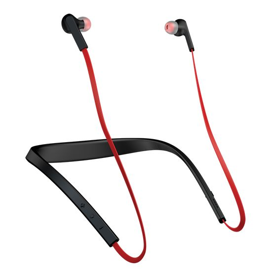 Jabra Halo Smart, amazing sound with wireless calls and music wherever you go. Enjoy up to 17 hours of battery time with 3 colours of black, blue and red.