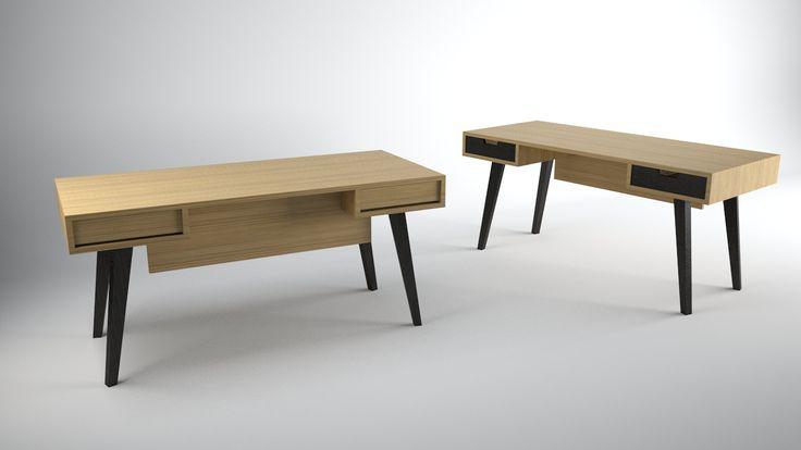Office desk by Panos Makris