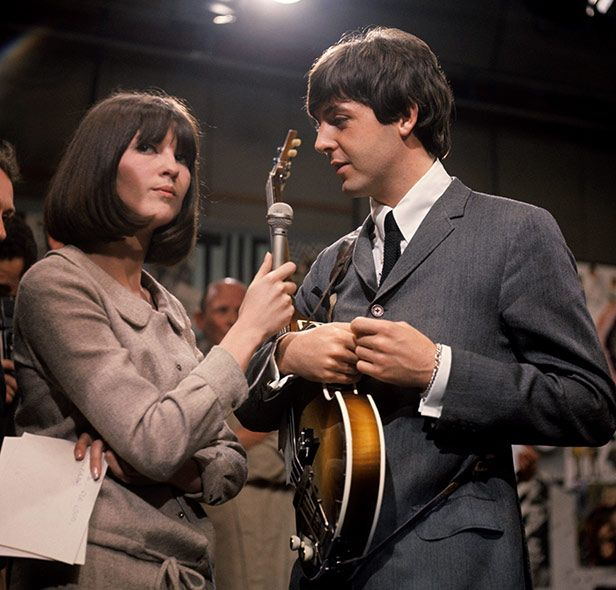 Cathy McGowan interviews Paul McCartney