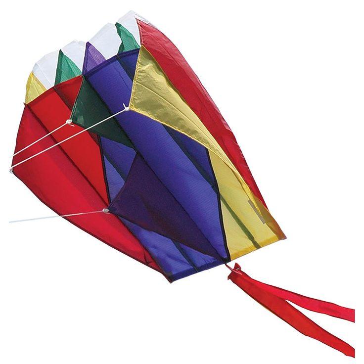 Premier Kites Premier Designs Rainbow Parafoil 2 Kite, Multicolor