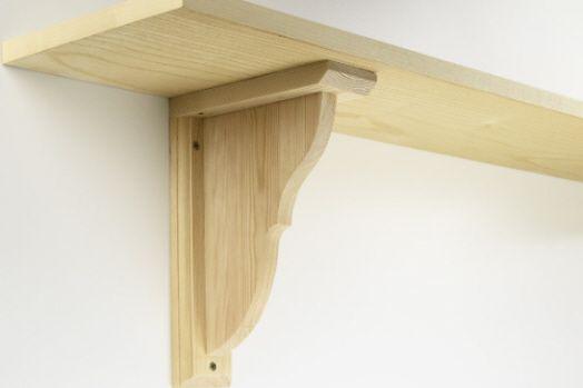 17 best ideas about shelf brackets on pinterest shelves diy wall shelves and mantle shelf. Black Bedroom Furniture Sets. Home Design Ideas