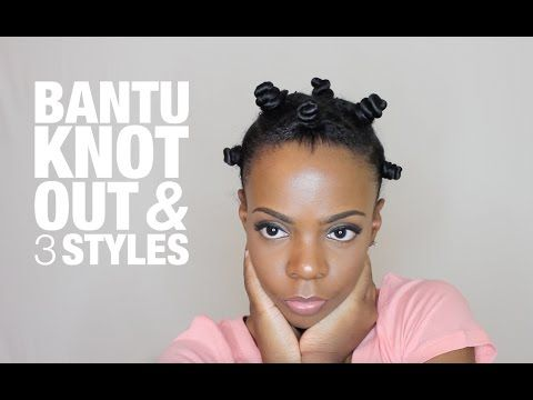 Sexy, Beautiful & Gorgeous Bantu Knots On Natural Hair