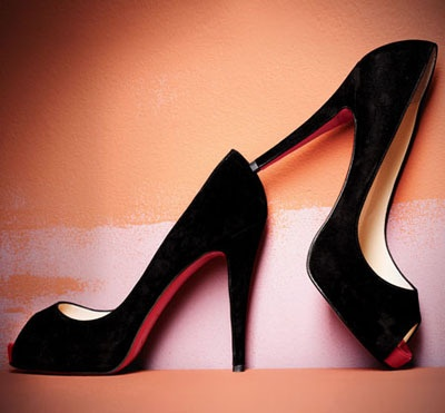 classic #shoes #heels: Fashion, Style, Black Heels, Christian Louboutin, Black Pumps, High Heels, Red Bottom, Shoes Shoes