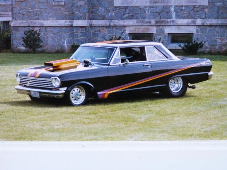 Pro Street Cars | 63 Chevy II