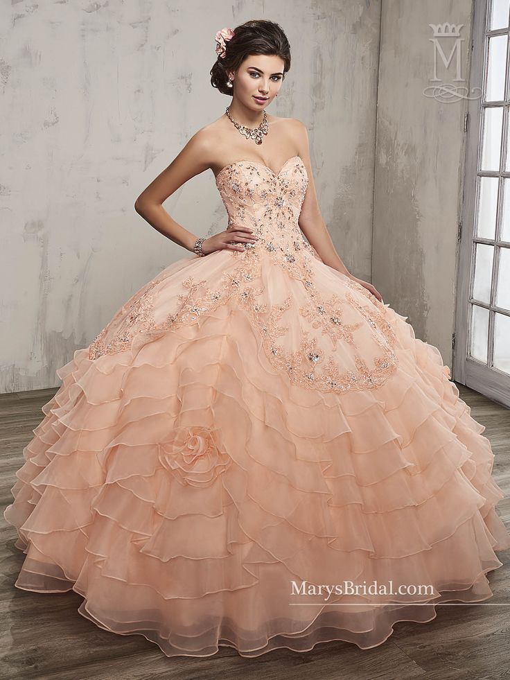 208 best Quinceanera Gowns images on Pinterest | Ball ...