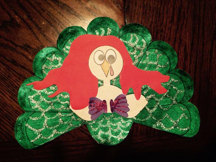 Tom Turkey Disguise!! Little mermaid!! Mermaid Turkey!