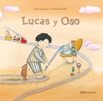 AMARILLO CUENTOS CAM - El pequeño Lucas planeaba atrapar al monstruo de la jarra de agua, que mojaba su cama cada noche. Para ello, contaba con la ayuda de su fiel y leal amigo Oso.