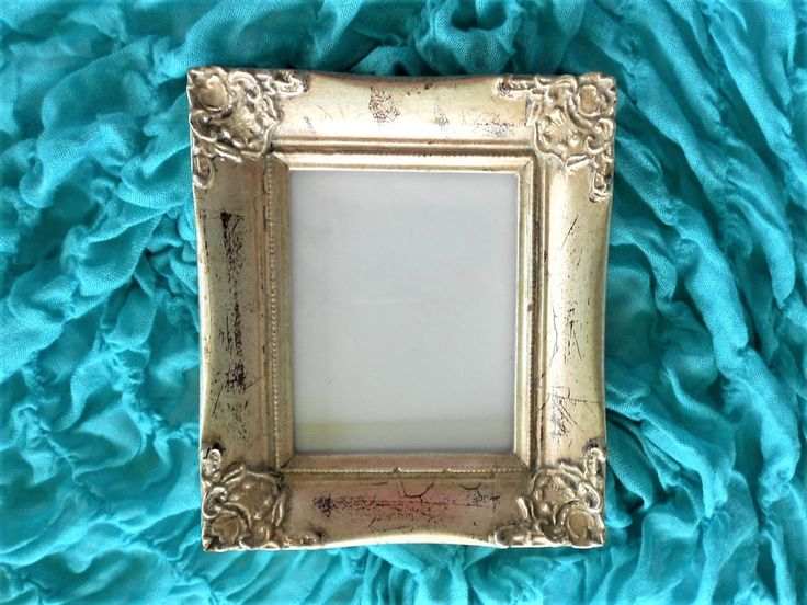 Silver Picture Frame, 4 x 5,Photo Frame, Ornate Frame, Silver Leaf Distressed, Antique Look Picture Frame, Wall Hanging, Item SPF 10001 by GoldLeafGirl on Etsy
