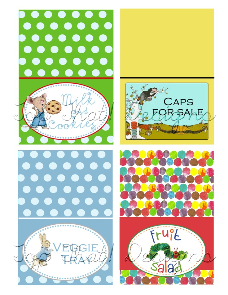 Find This Pin And More On Childrenu0027s Book Theme Baby Shower By Kamescua.