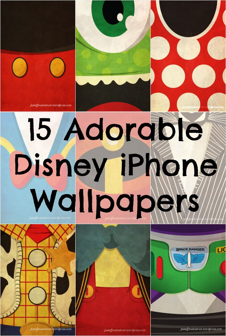 15 Iconic #Disney Characters as iPhone Wallpapers/ I need a wallpaper to represent where my son is at!