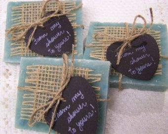 25 bridal shower favors soaps mini soaps di CountryChicSoaps