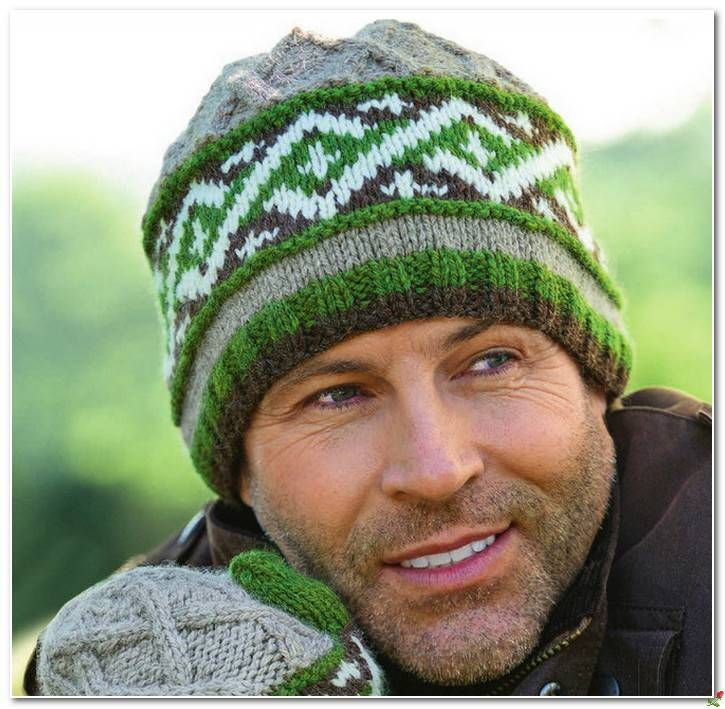 Узоры для мужских жаккардовых шапок. Обсуждение на LiveInternet - Российский Сервис Онлайн-Дневников