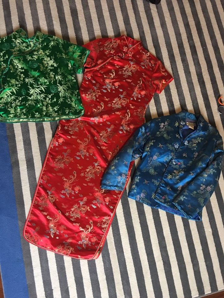 Oriental Clothes 3 Pieces  | eBay
