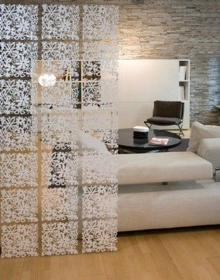 Koziol Alice Ornament Wall Panel White Room Hanging Decor Divider Designer