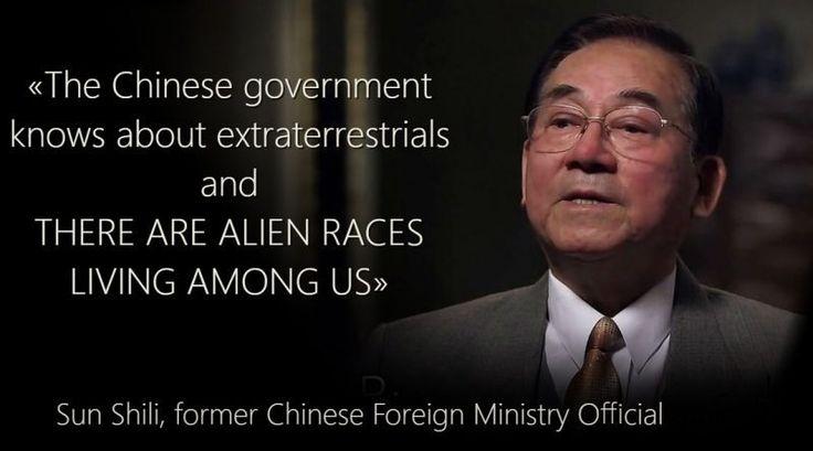 Ex-Oficial Chinês revela casos de Ovnis.