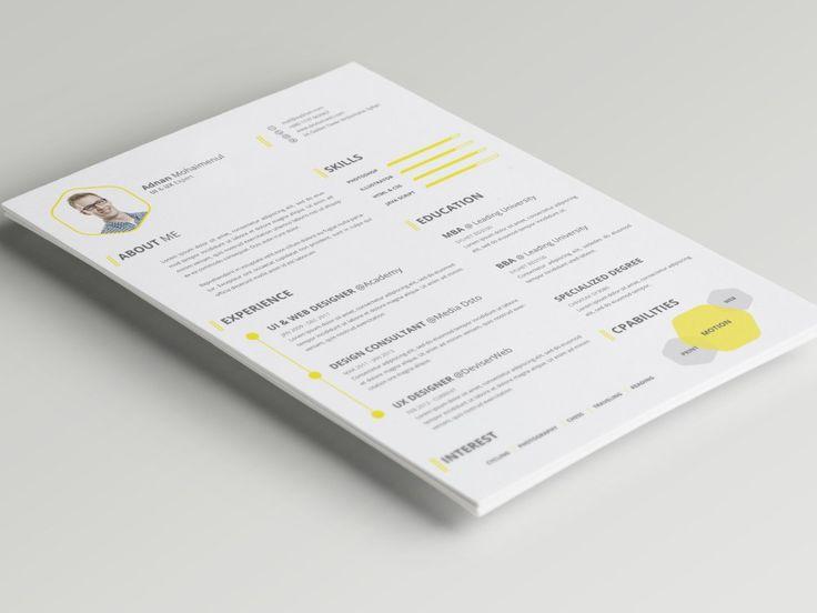 27 best curriculum vitae images on Pinterest Cv template, Resume - curriculum vitae templates free download