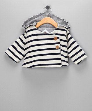 precious stripe hoodie