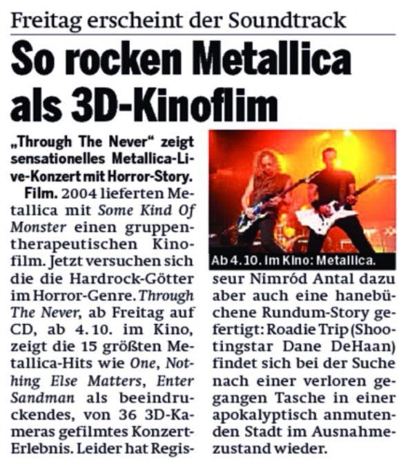 Metallica in ÖSTERREICH