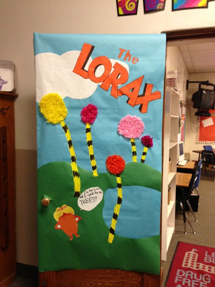 28 best Dr.seuss door decorations images on Pinterest