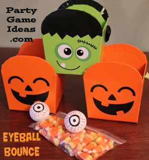 halloween eyeball bounce easy fun diy halloween game just one of halloween party gameskids