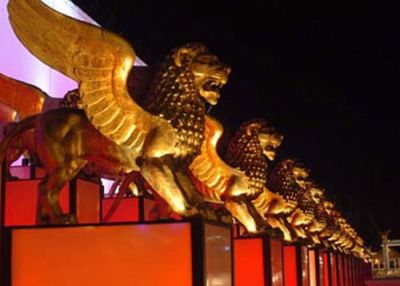 Il Leone d'Oro, or the Golden Lion is the major award at the Venice Film Festival
