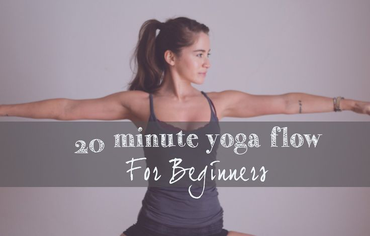 This is a 20 min yoga sequence that's best for people who are new to yoga. It's a flow sequence, but slowly than your traditional vinyasa. If you love this a...