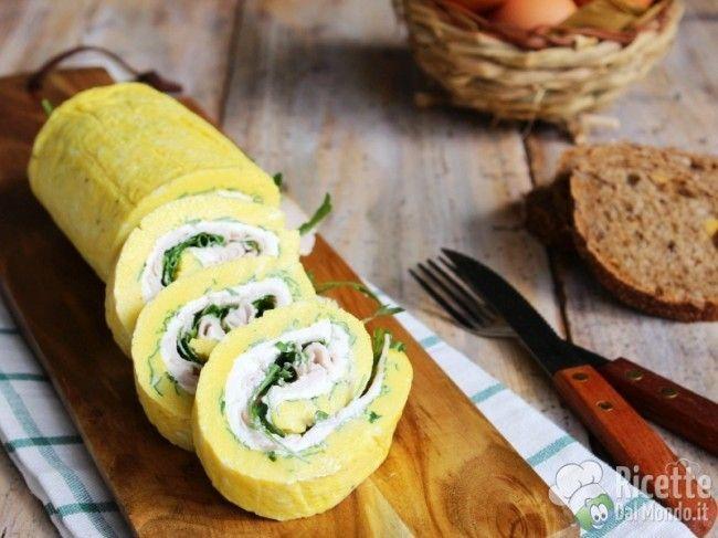 Rotolo di Frittata freddo  Semplice e sfizioso, ideale per la cena! http://bit.ly/Rotolo-di-frittata