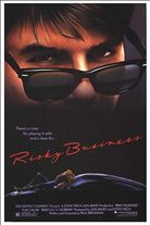 Risky Business (1983). Starring: Tom Cruise, Rebecca De Mornay, Bronson Pinchot and Richard Masur