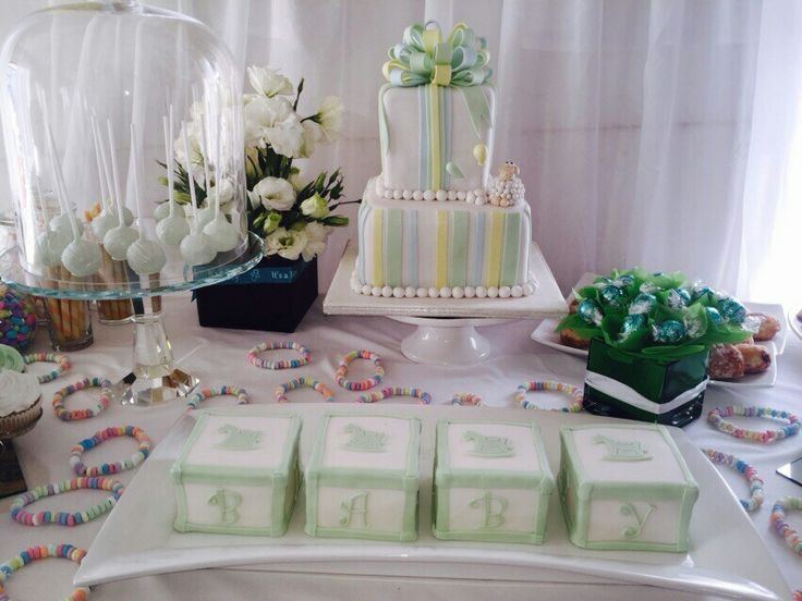 My nephews naming ceremony. White an mint green. Enchanted an elegant.