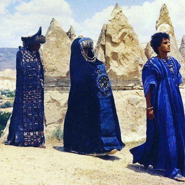 Piero Tosi costumes for PP.Pasolini's Medea #pierotosi #pierpaolopasolini #medea
