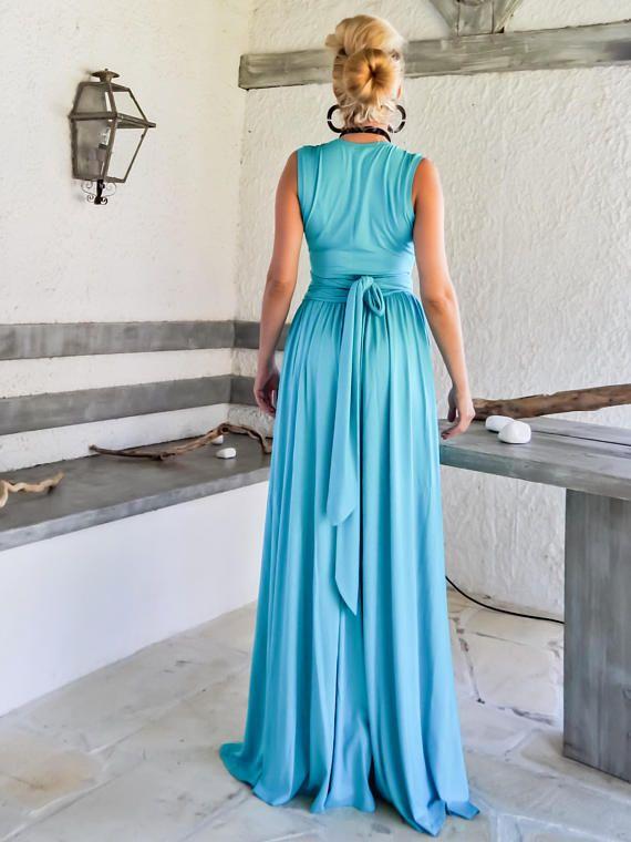 7933d7abe8ef46 Türkis Maxi-Kleid mit Gürtel   Türkis Plus Size Kleid   Türkis Abendkleid     35233 Ein must have für Ihre Garderobe...! Eine beeindruckende Maxi Kleid