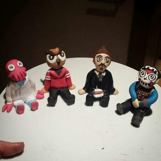 For Mini's B-day TibbersClay on Twitter made Daithi De Nogla, VanossGaming, Mini Ladd, and H2ODelirious!!! =D